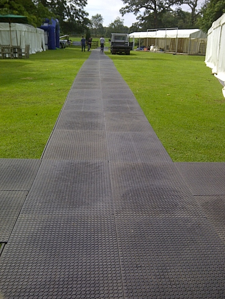 Walkovers are ideal for outide events