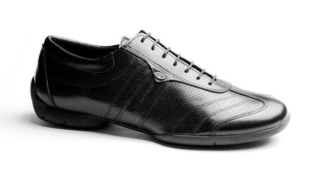 Zapatos de baile Hombre Portdance Premium PD Pietro Braga Street Piel Negra en www.tiendasdedanza.com
