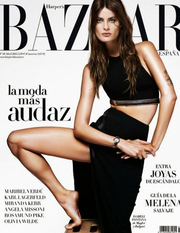 Fashion Model, Actress @ Isabeli Fontana by Alique for Harper's Bazaar Spain, April 2015
