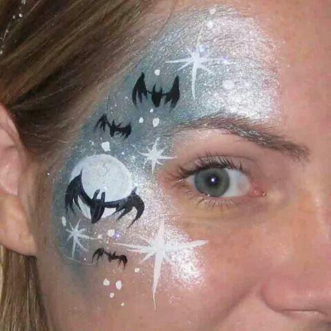 Bats facepaint
