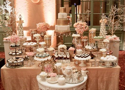 rose gold wedding cake table 44 best princess quinceanera theme images on 19296