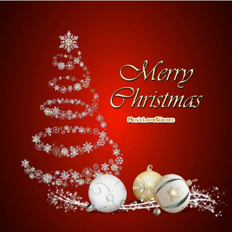 Merry Christmas card – Musiclovesilence