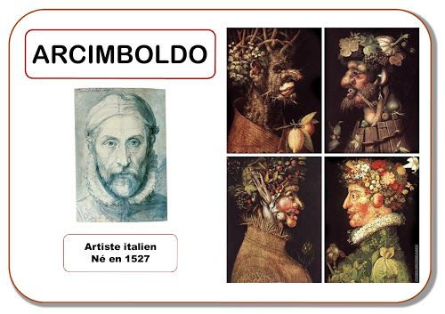Arcimboldo - Portrait d'artiste
