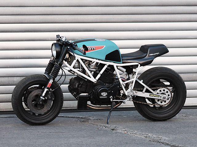 '88 Ducati 750 Sport – JvB Moto