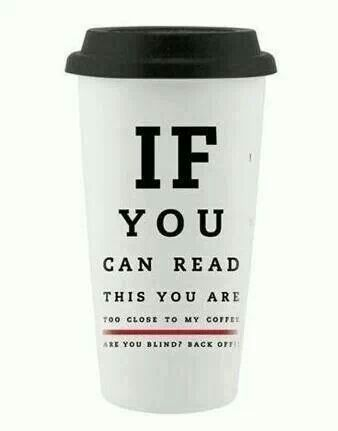 Back away from the coffee cup! #Coffee #MrCoffee