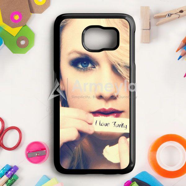 Taylor Swift Poster 1989 Cover Album Taylor Swift Singer Samsung Galaxy S6 Case | armeyla.com