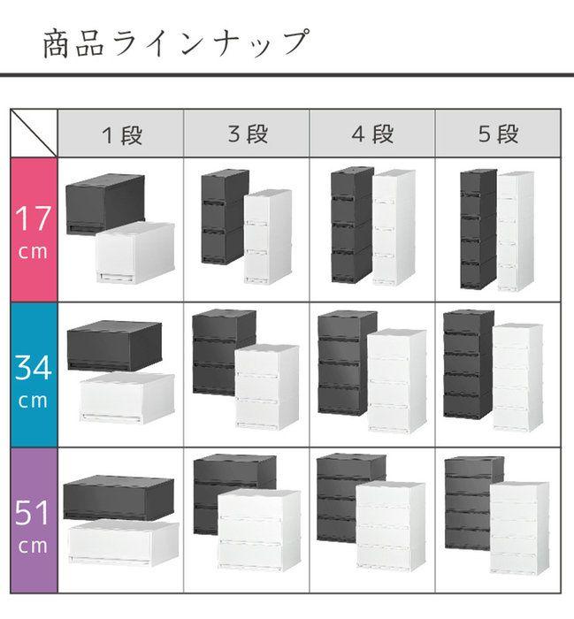 収納ボックス 幅51cm ワイド 幅広 ほこりの入りにくい壁タイプ。収納ケース プラスチック 引き出し 日本製【PLUST (プラスト)ベーシックFR5101】幅51cm 奥行45cm 1段 ワイド 幅広 ほこりの入りにくい壁タイプ 半透明タイプ クローゼット 押入れ 衣類収納 衣装ケース PPケース おしゃれ 新生活 寝室 10P03Dec16