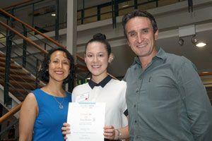 Determination & Courage Helps Salina to All-round Success - CAS