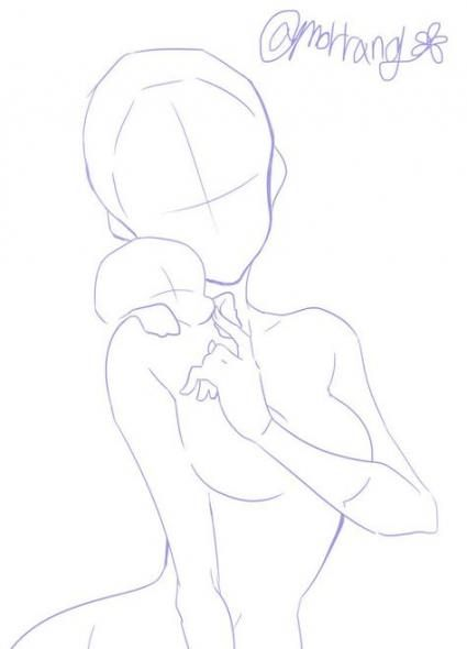 Drawing Poses Cute 67 Ideas Drawing Reference Poses Drawing Body Poses Art Poses