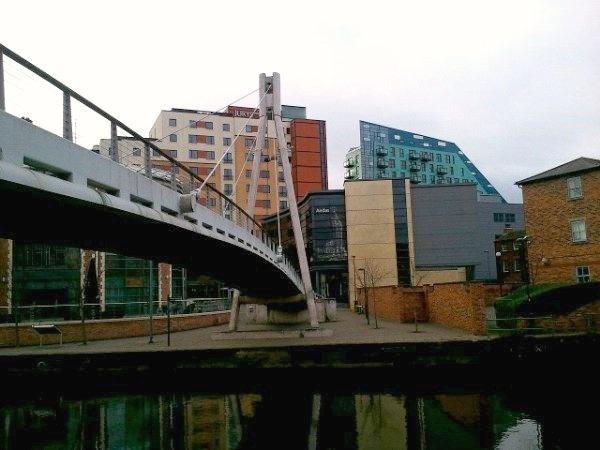 Millenium Footbridge Leeds Waterfront Leeds Yorkshire England - 10 things to see and do in leeds