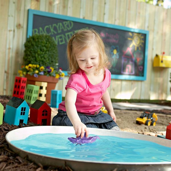 DIY children's play pond