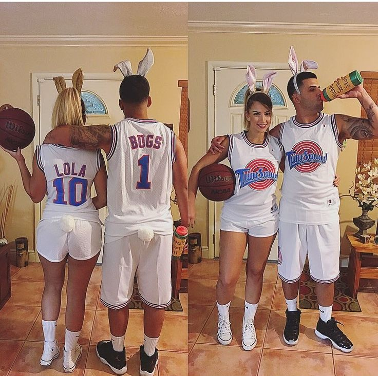 Bugs and Lola space jam costume