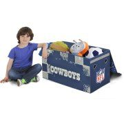 NFL Collapsible Storage Toy Trunk, Choose Your Team