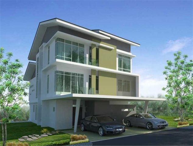 Villa 10 1 4 Malaysia Modern Villas Pinterest Villas And Architecture