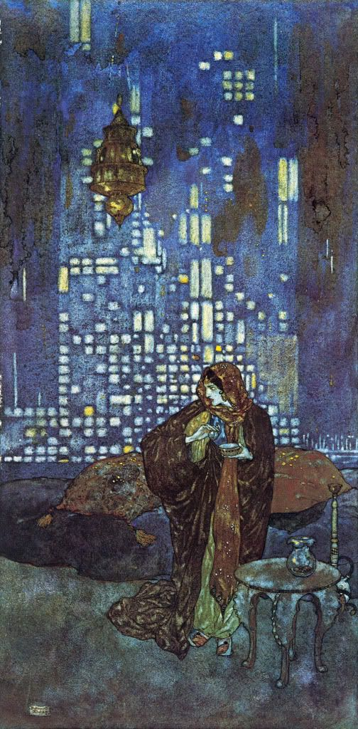 Edmund Dulac Arabian Night -  Great Reads from Exceptional Authors at http://wildbluepress.com. True crime, thrillers, mystery and business productivity books.