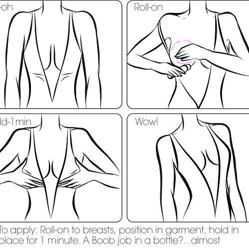 What is Boob Glue?  A gentle skin adhesive, formulated by a leading cosmetic chemist, designed specifically for the delicate breast are. For natural or augmented breasts Water Soluble Formula All ingredients tested and proven safe for use. Goes on clear and dries fast Will not stain fabric. We always suggest to test first, just to be safe