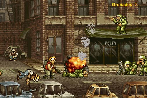Metal slug video game