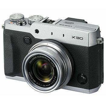 Kompakta Fujifilm FinePix X30 silver