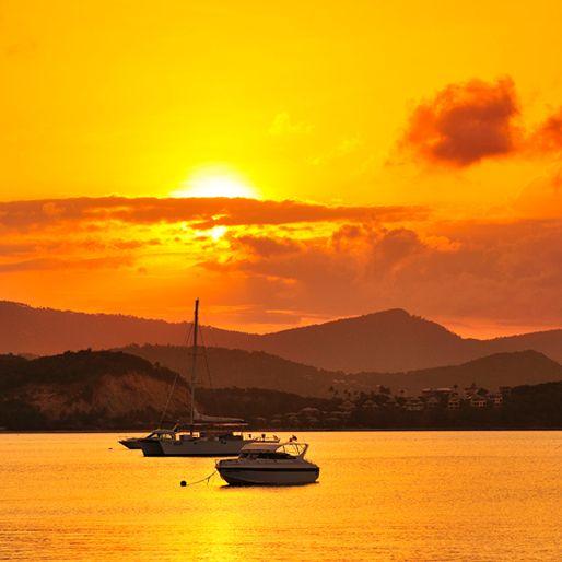 Smuk solnedgang i Thailand. Se mere her: http://www.apollorejser.dk/rejser/asien/thailand