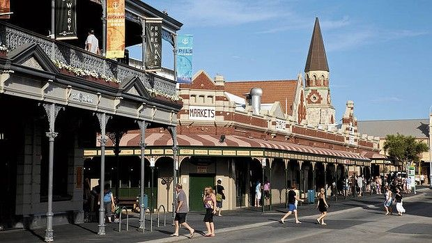 The Sail and Anchor Pub Brewery and Fremantle Markets. find spot upstairs and watch the buskers