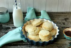 Delicious Homemade Buttermilk Biscuits Recipe made with Krusteaz Buttermilk Pancake Mix! #Krusteaz #BreakfastNight [ad]