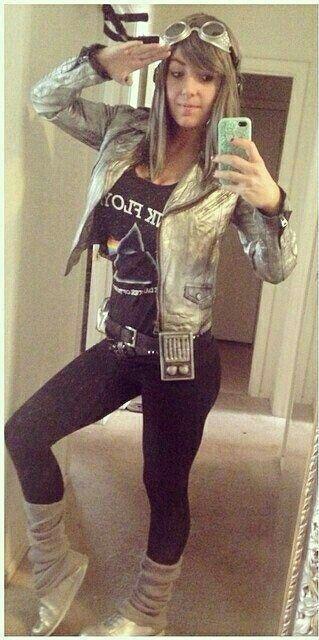 Jessica Nigri as Quicksilver #Rule63 #cosplay