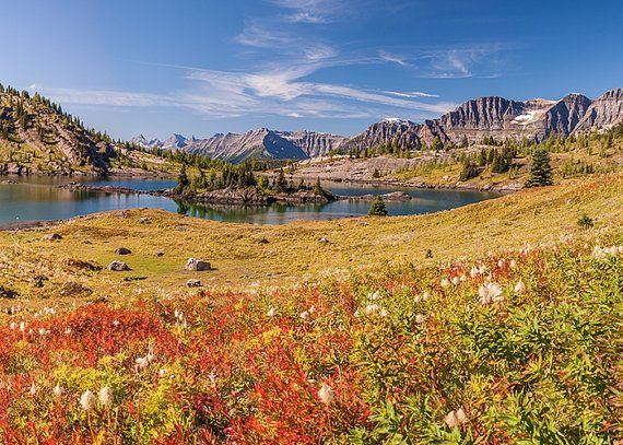 Mountain Photograph - Rock Isle Lake, Wonder Pass