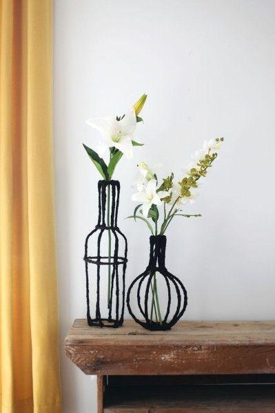 Make Wire Vases