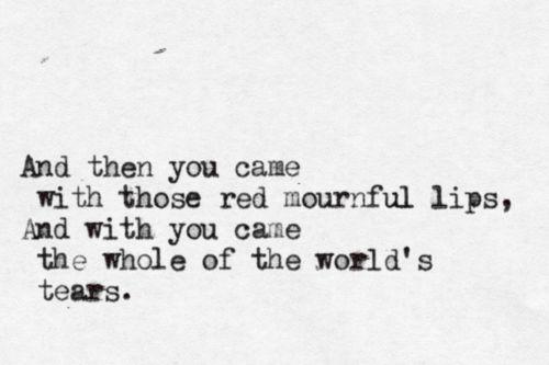 """The Sorrow of Love"" by W.B. Yeats"
