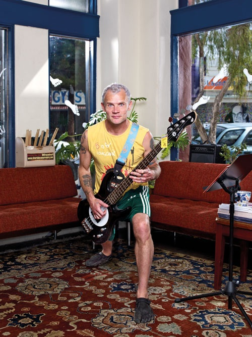 Flea from Red Hot Chili Peppers is a big runner; he featured in our Nov '11 mag. Think he's getting in some mileage while in SA?