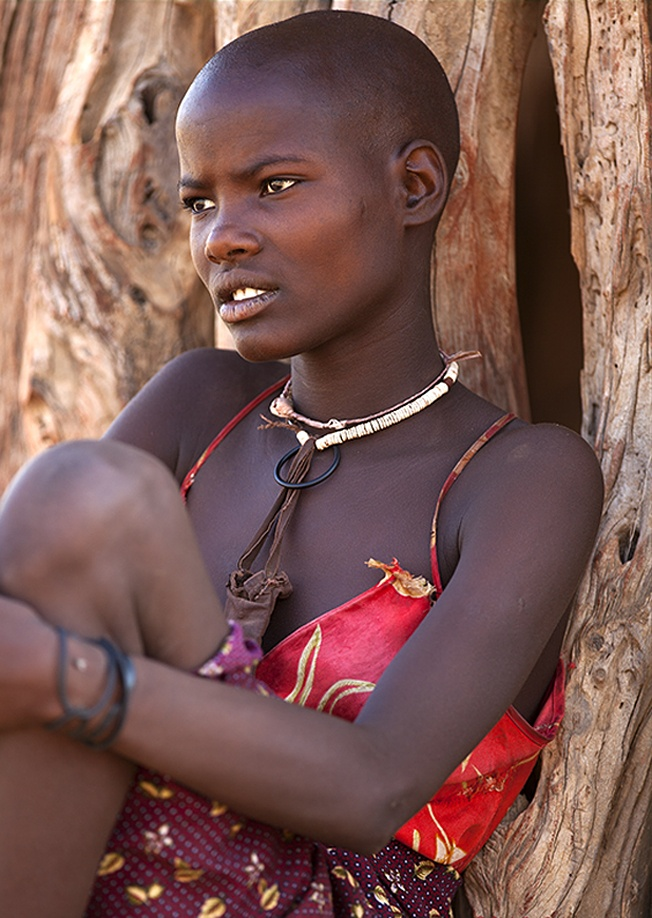 Mulher africana   – Tribal beauty