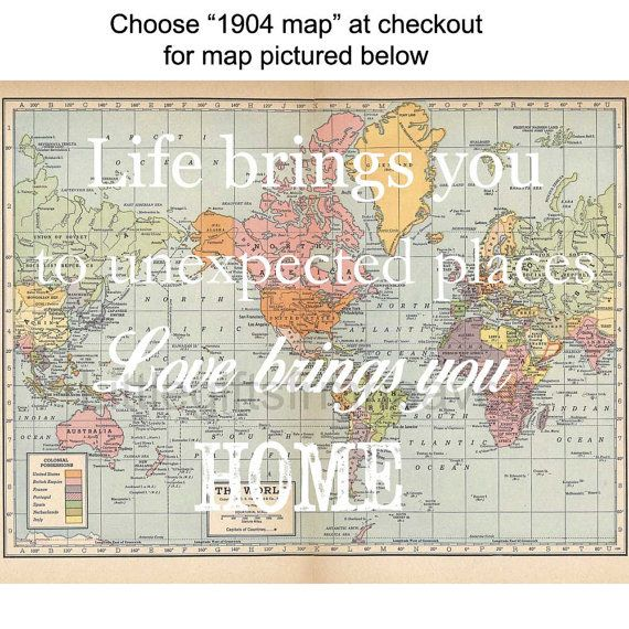 7 best travel quotes images on Pinterest Bridal quotes, College - best of background map of the world