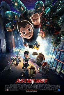 """Freddie Highmore as Astro Boy [鉄腕アトム ]. Toby Tenma is Dr. Tenma's son who is tragically killed in the Introduction. Astro is a robotic replica of Toby built in his image and with his memories. Rejected by his father, Astro is trying to find his place in the world. While in the manga, he is run by a technology called """"kokoro"""" [ 心 ] (Japanese for """"heart""""), Astro runs on Blue Core energy in the film. (Spoiler alert - the Wikipedia Article tells the entire plot of the movie from beginning to…"""