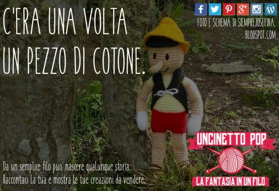 Uncinetto Pop - Pinocchio ADV
