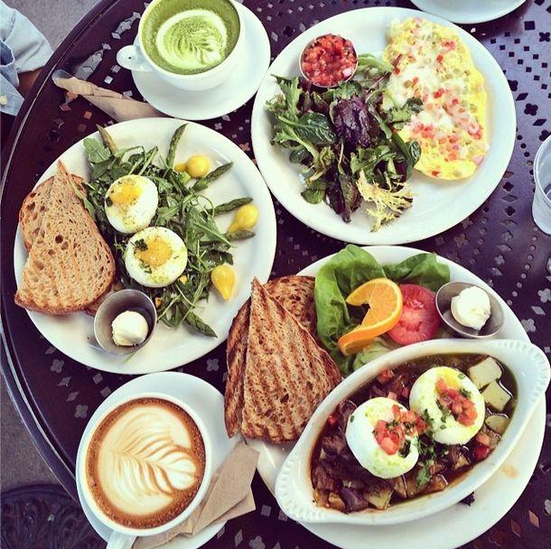Urth Cafe Tea Menu