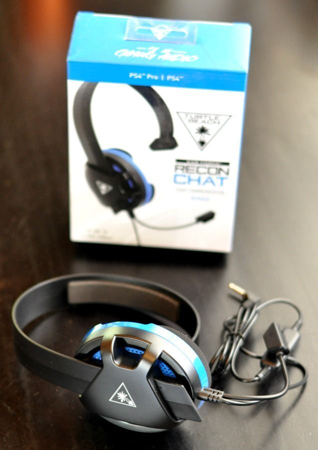 Do you want to upgrade the gaming headset that came with your PS4 or XBox One? Then you need to check out the Turtle Beach RECON CHAT gaming headset. (ad)
