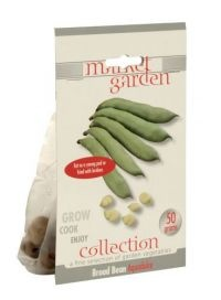 £1.00  - Market Garden Collection Vegetable Bulbs Broad Bean Aquadulce  Eat as a young pod or fried with lardons. 50g.