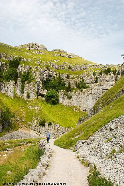 Gordale Scar, Yorkshire Dales, North Yorkshire, England - need to hike the dales!