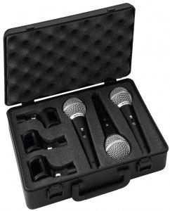 DM-3SET Zestaw mikrofonów dynamicznych wokalowych
