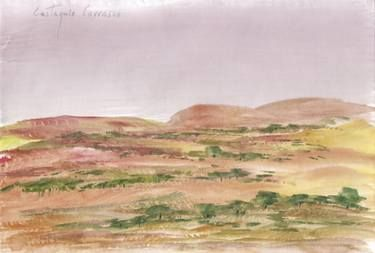 Landscape with watercolor 70