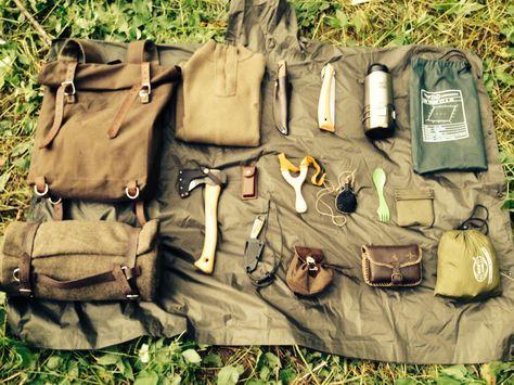 """""""bushcraft kit"""", de Jakob Mair. Description complète dans les commentaires, de la part de l'auteur de la photo lui-même."""