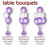 The Hilton Hotel Brighton using 5 balloon bouquets topped with a foil ...