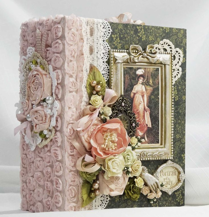 Graphic-45-Portrait-Of-A-Lady-Handmade-Scrapbook-Mini-Photo-Album-by-Terry     Graphic-45-Portrait-Of-A-Lady-Handmade-Scrapbook- - Scrapbook.com