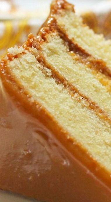 Real Deal Southern Caramel Cake