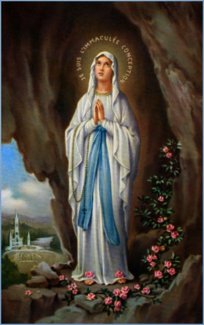 Sacra Galeria: Nossa Senhora de Lourdes