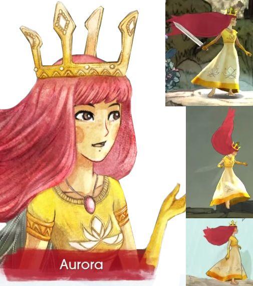 Adult Aurora   Child of Light.