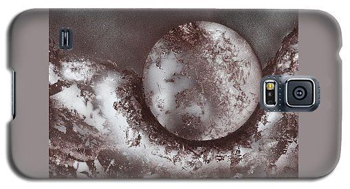 Marble Planet Galaxy S5 Case Printed with Fine Art spray painting image Marble Planet by Nandor Molnar (When you visit the Shop, change the orientation, background color and image size as you wish)