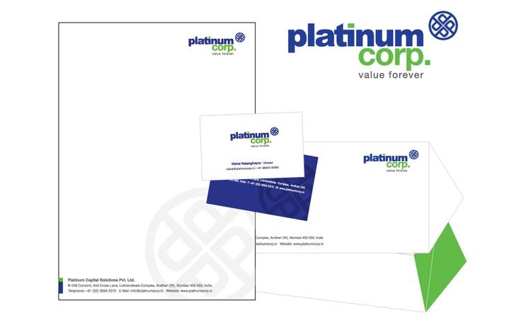 Branding work for Platinum Corp
