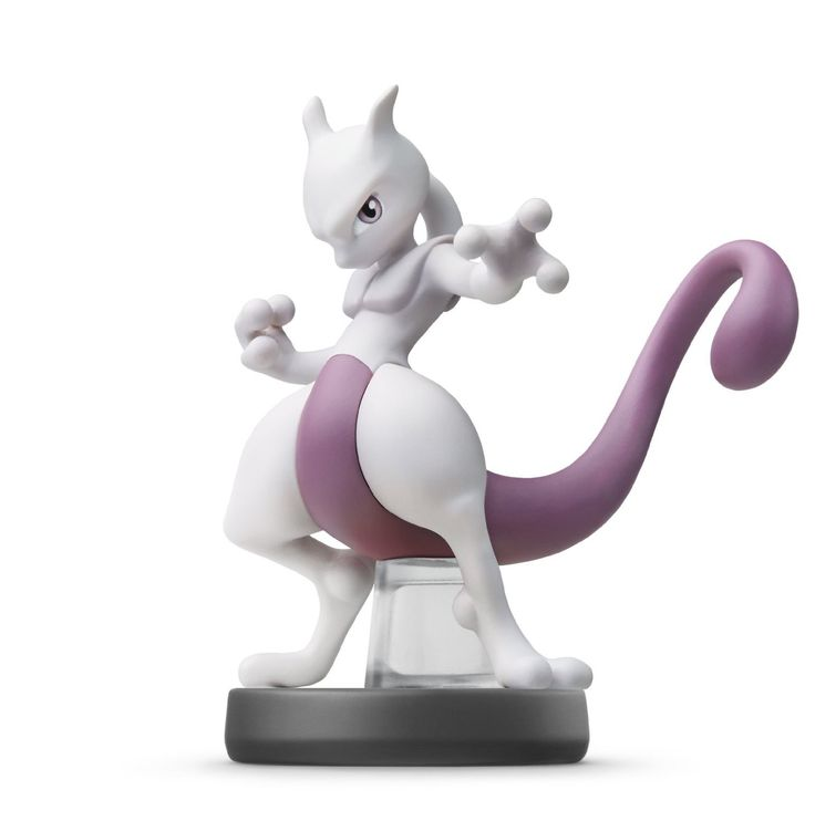 Mewtwo Amiibo (Super Smash Bros Series)