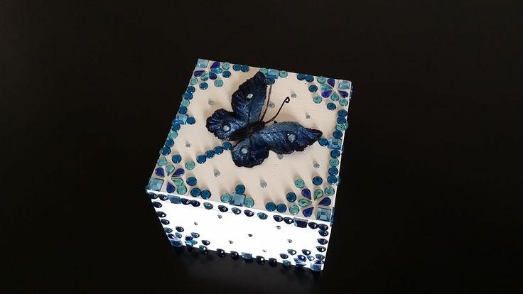 Beautiful butterfly box